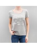 Noisy May T-shirt NMMAXel grigio