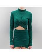 Noisy May T-Shirt manches longues NMBabetta vert