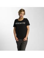 Noisy May T-shirt nmAlfred Printed nero