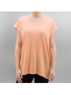 Noisy May t-shirt nmMathilde Loose Long oranje