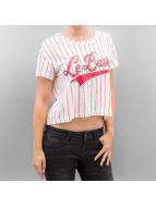 Noisy May T-Shirt nmStar Cropped white