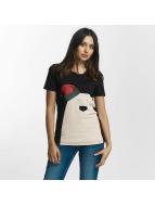 Noisy May t-shirt nmNovelty Polarbear zwart