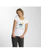 Noisy May T-Shirts nmAxel Printed beyaz