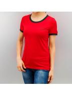 Noisy May T-Shirty NMRetro czerwony