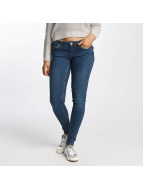 Noisy May nmEve Pocket Piping Jeans Dark Blue Denim