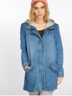 Noisy May nmArka Loose Denim Parka Dark Blue Denim
