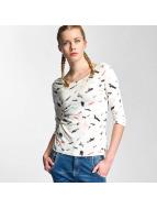 Nümph Camiseta de manga larga Berit Blouse blanco