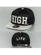 Official Snapback Cap High Black schwarz