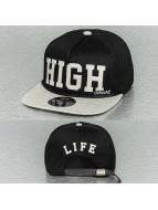 Official snapback cap High Black zwart