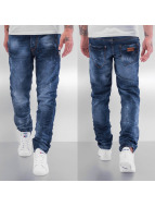 One Public Straight Fit Jeans Basic blau