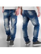 One Public Straight fit jeans Bim blauw