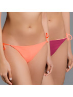 O'NEILL Reversible Solid Tieside Bottom Fluoro Peach