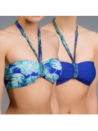 O'NEILL Beachwear Reversible Bandeau blue