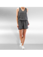 O'NEILL Strappy Playsuit Black AOP/White