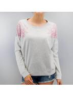 Lace Sweatshirt Grey/Pow...