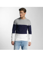 O'NEILL LM Crew Pullover White AOP W/Blue