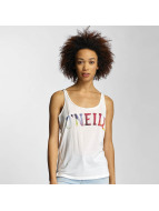 O'NEILL Print Racerback Tank Top Powder White