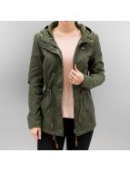 Only Демисезонная куртка onlLorca зеленый