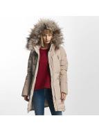 Only Зимняя куртка onlRhoda бежевый