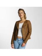 Only Кожаная куртка onlCarly Faux коричневый