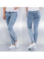 Only Облегающие джинсы Royal Regular Acid синий