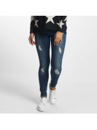 Only Облегающие джинсы onlCoral синий
