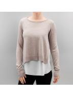 Only Пуловер OnlSue серый