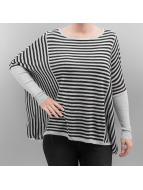 Only Пуловер OnlTabatha серый