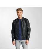 Only & Sons Кожаная куртка onsCamp черный
