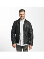 Only & Sons Кожаная куртка onsFrans черный