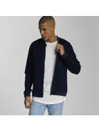 Only & Sons onsDecker Denim Bomber Jacket Dark Blue Denim