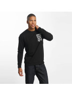Only & Sons onsVill Rock Print Pullover Black