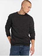 Only & Sons onsFiske Crew Neck Sweater Dark Grey Melange