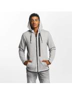 Only & Sons onsVinn Zip Sweatshirt Light Grey Melange