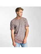 Only & Sons onsSplashy Longy T-Shirt Light Grey Melange/Copper Brow