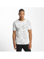 Only & Sons T-Shirt onsAutflower blanc