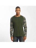 Only & Sons T-Shirt manches longues onsCleve Camo vert