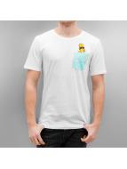 Only & Sons T-skjorter onsSimpsons hvit
