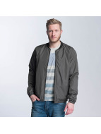Only & Sons onsNorm Bomber Jacket Grey Pinstripe
