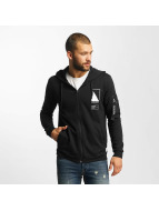 Only & Sons onsCadby Zip Hoody Black