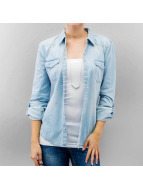 Only Blouse/Chemise onlAlways Rock It Fit bleu
