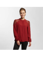 Only Blouse onlSonny Lace Bishop rood