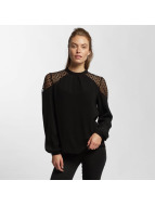 Only Blouse onlSonny Lace Bishop zwart