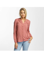Only Bluse onlFirst Pocket rosa