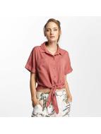 Only Bluse onlBella Lux Tencel Tie rosa