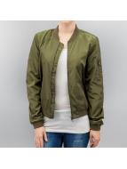 Only Bomber Ceket onlLinea Nylon yeşil