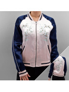 Only Bomber jacket onlSouvenir Flower rose