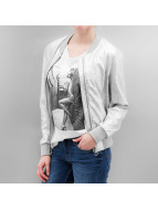 Only Bomber jacket onlMelissa silver colored