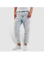 Only Boyfriend Jeans onlTonni Denim Bleach blå