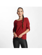 Only Camicia/Blusa onlFirst 3/4 Fold Up rosso